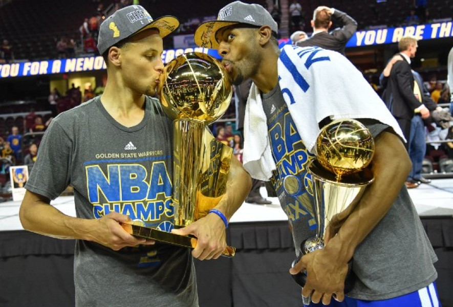 CLEVELAND, OH - JUNE 16:  during Game Six of the 2015 NBA Finals at The Quicken Loans Arena on June 16, 2015 in Cleveland, Ohio. NOTE TO USER: User expressly acknowledges and agrees that, by downloading and/or using this Photograph, user is consenting to the terms and conditions of the Getty Images License Agreement. Mandatory Copyright Notice: Copyright 2015 NBAE (Photo by Jesse D. Garrabrant/NBAE via Getty Images)
