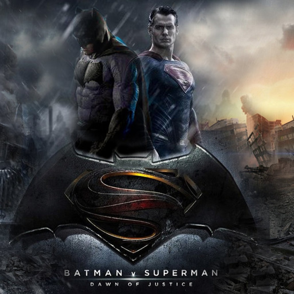 Baseball Logo With A Ball: Batman Vs Superman Second Trailer