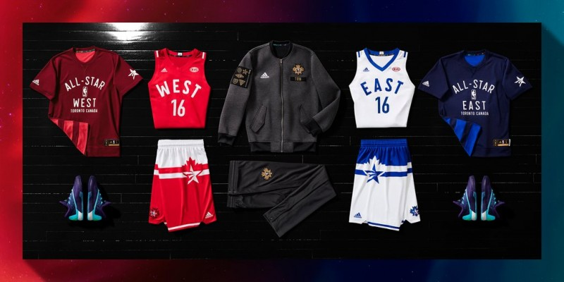 b8ce25e5b Adidas unveils fresh 2016 NBA All-Star uniforms