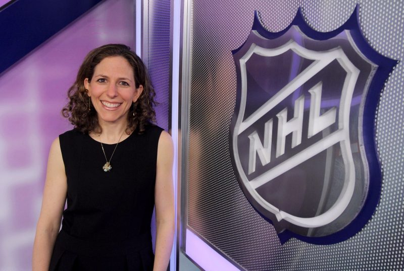 Jessica Berman of the National Hockey League