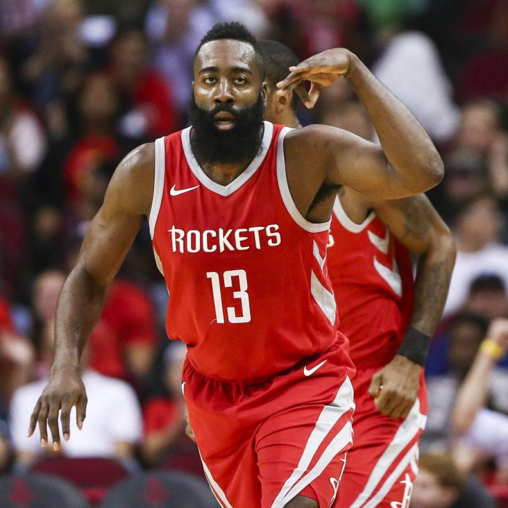 It's James Harden's MVP Race To Lose