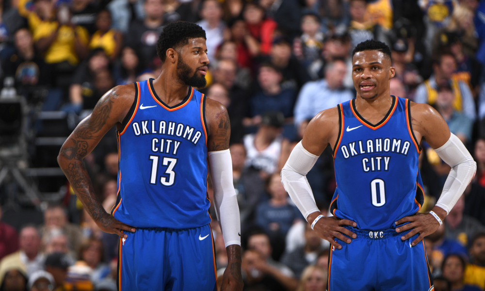 1675b61ea Russell Westbrook and Paul George are in perfect sync